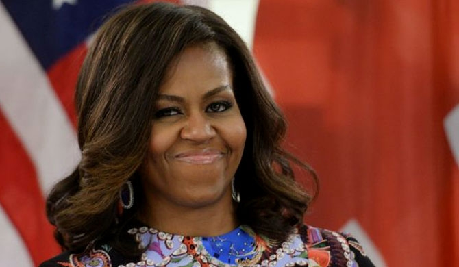 Michelle Obama, America's most admired woman