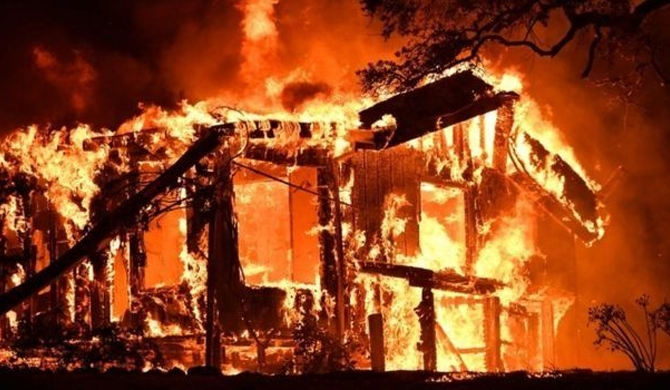 Deadly fires hit California