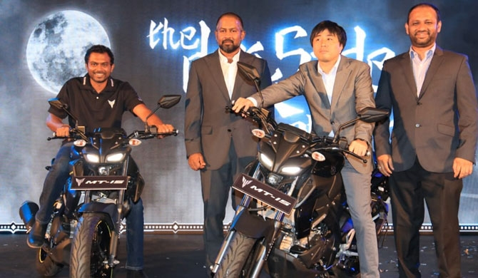 Yamaha AMW launch the MT - 15