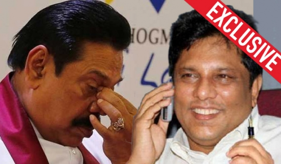 Mahinda admits conversation with Lasantha is genuine