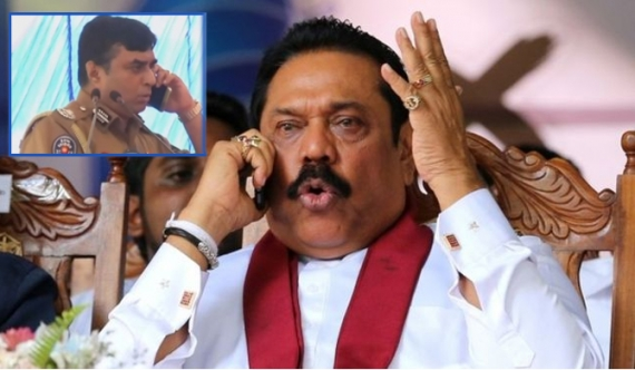Don't talk about 'IGP-Nilame' issue, Mahinda tells JO