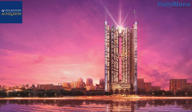 Blue Mountain Achilleion, among top 3 apartments in Asia Pacific