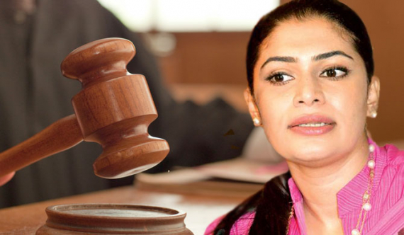 Hirunika appears in court minutes after warrant issued