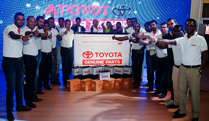 Toyota Genuine Battery launch