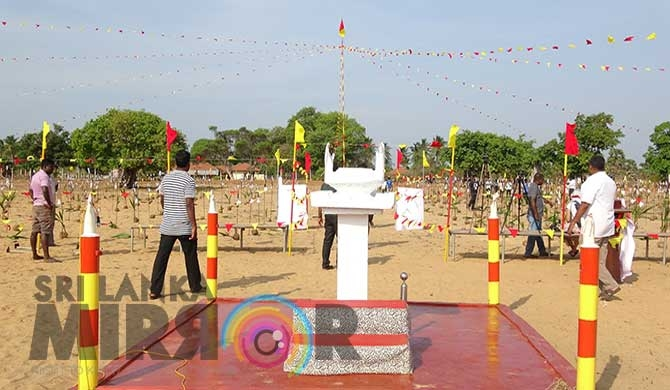 Mulliwaikkal commemoration held amidst tight security (pics)