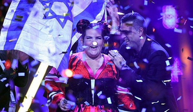Israel wins Eurovision (Video)