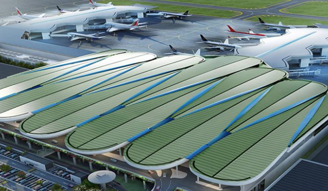 BIA new terminal to look like lotus leaf at Rs. 35m cost!
