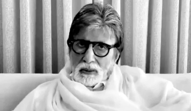 Big B's 'family' urges to stay indoors (Video)