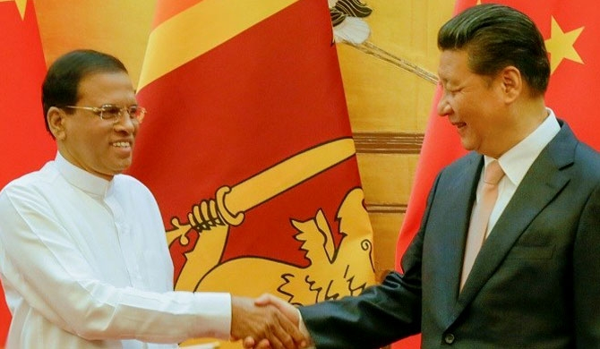 Maithripala Sirisena - Xi Jinping to meet in China