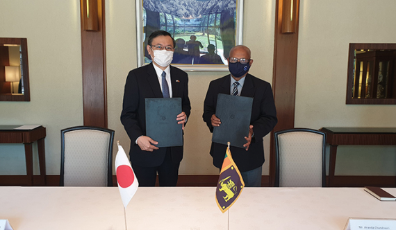 Japan further backs demining in Northern Sri Lanka