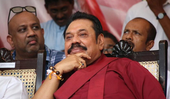 Mahinda to be sworn in on Sunday
