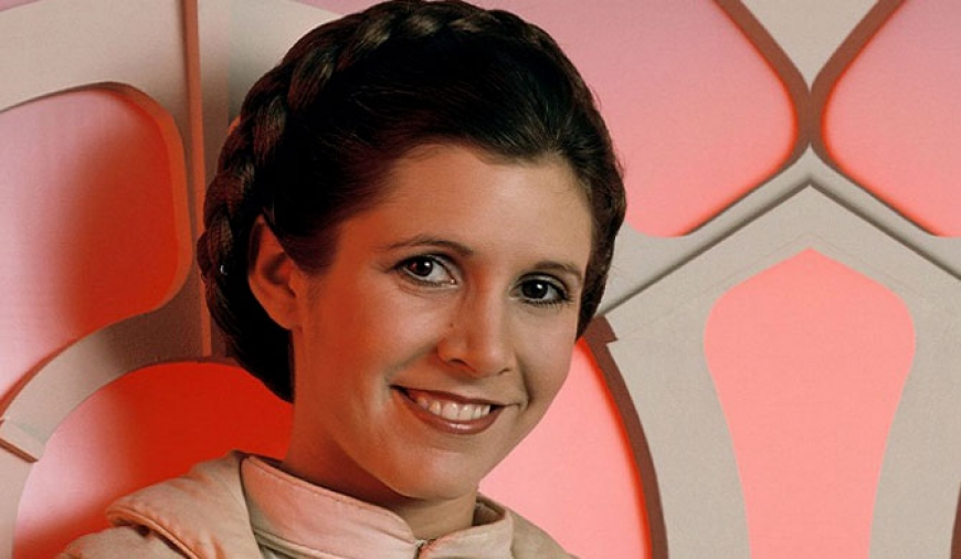 Princess Leia no more