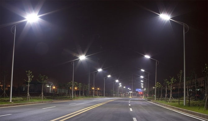 Korea Telecom got a LED street lamp contract