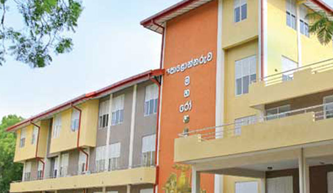2 wards at Polonnaruwa Hospital closed