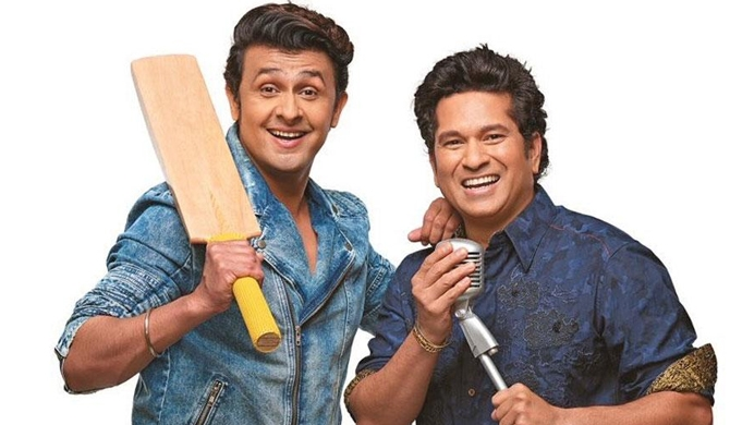 Sachin - Sonu 's 'Cricket Wali Beat' goes viral (Video)