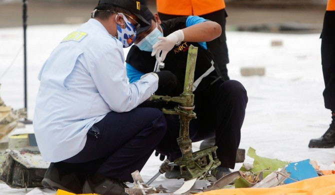 Black boxes of crashed Indonesian flight found