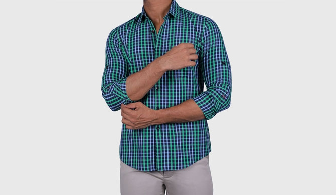 Emerald Active re-invents the casual shirt