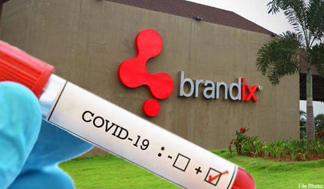 69 at Brandix tests positive