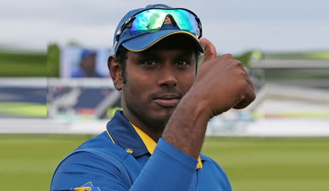Angelo Mathews appointed ODI Captain
