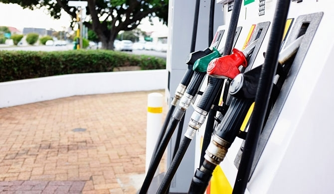 Fuel prices down