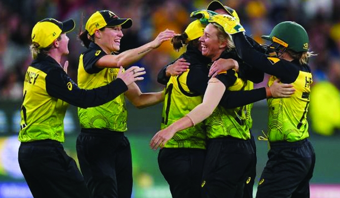 Australia crowned Women's World T20 Champs