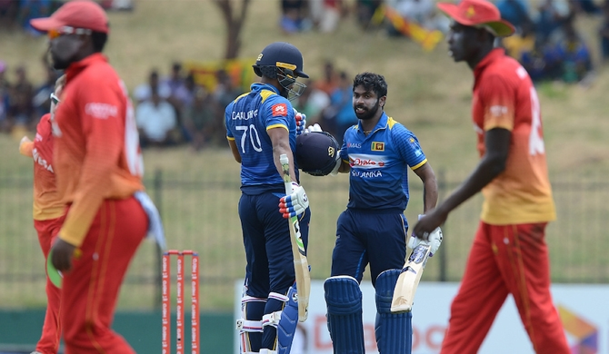 Zimbabwe restrict Sri Lanka to 203