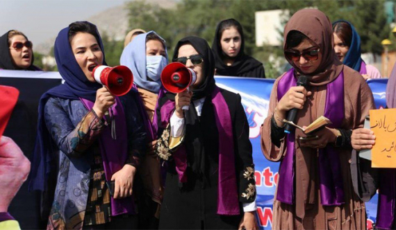 Taliban break up women's rights protest in Kabul
