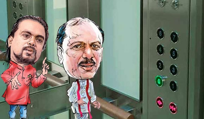 12 MPs stuck in elevator