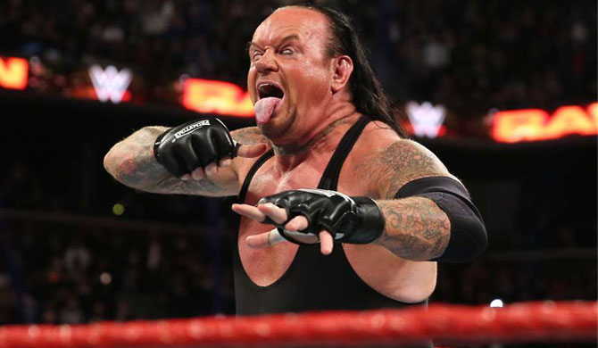 The 'Undertaker' bows out from the ring