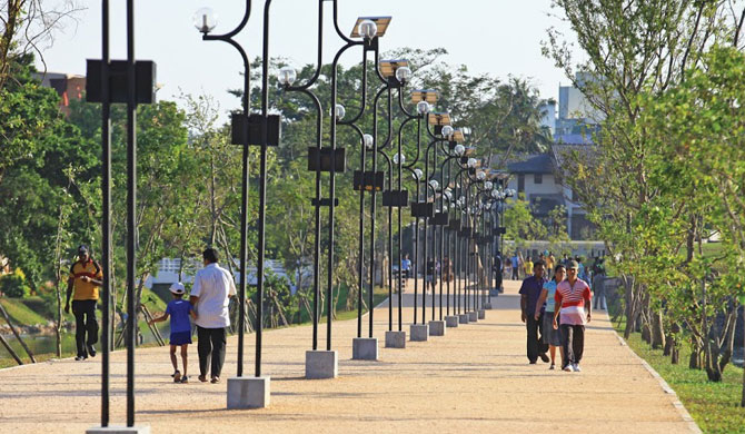 Jogging tracks open from today