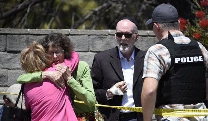 US synagogue shooting leads to one death
