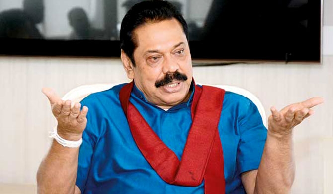 Mahinda to resign tomorrow