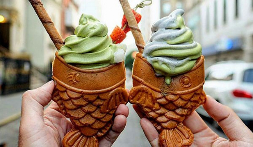 Fish Ice Cream anyone?