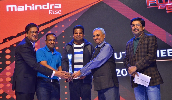 Ideal Motors shine at Mahindra's global distributor meet