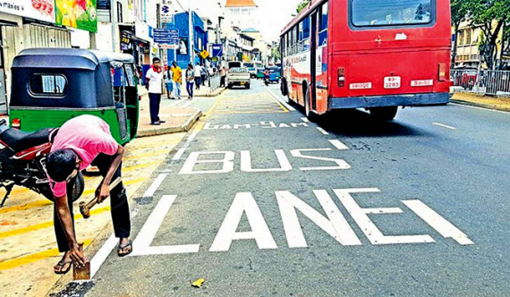 Bus owners oppose tuks & bikes using bus lane