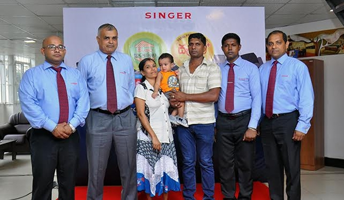 "Singer's ""Suraksha"" helps rebuild lives post-floods"