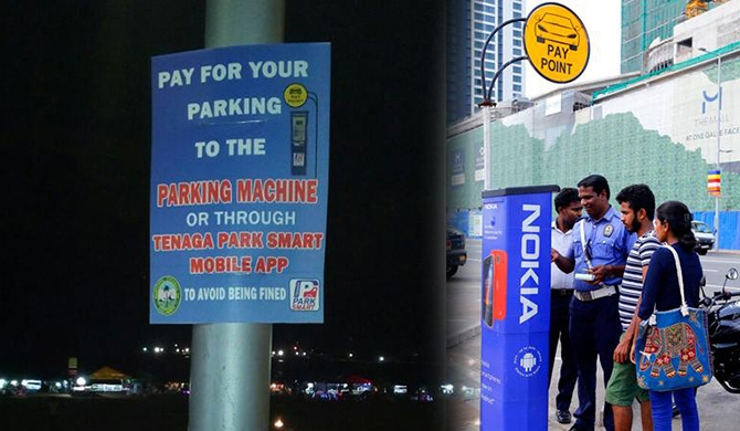 Colombo's new smart parking meters create a stir