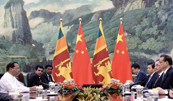 China agrees to defuse bombs in Sri Lanka!
