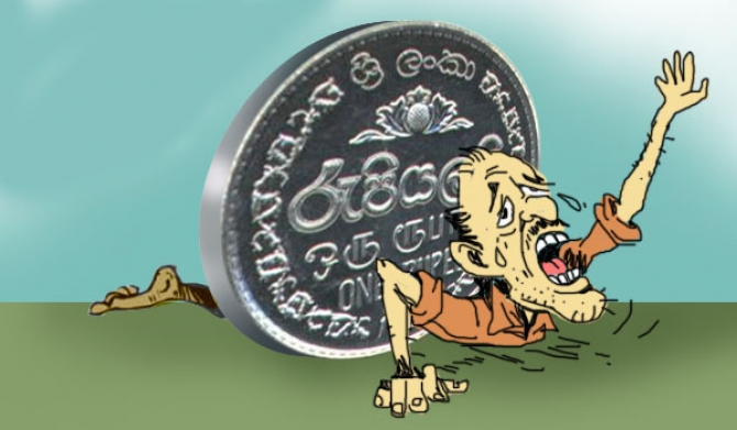 Sri Lankan rupee slips again to 157.40 per dollar