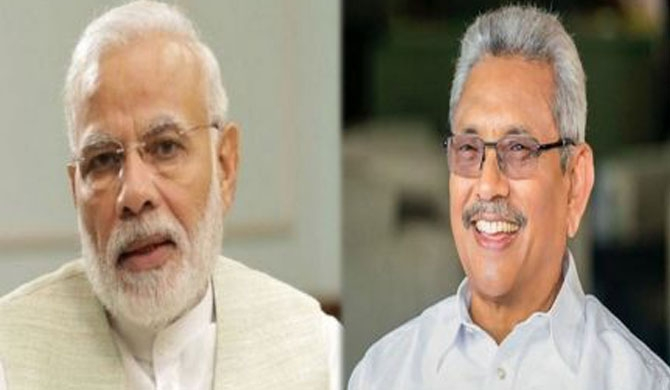 Modi invites Gotabaya Rajapaksa to visit India
