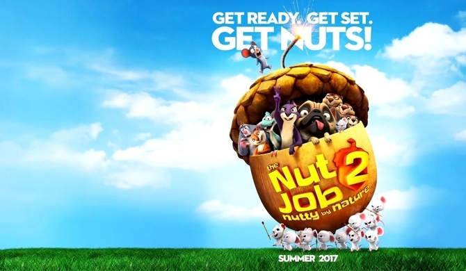 Go nuts with 'The Nut Job 2: Nutty by Nature' !
