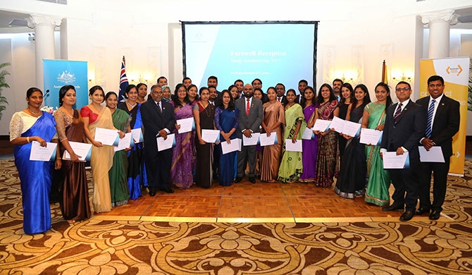 Australian High Commissioner congratulates Australia Awards recipients