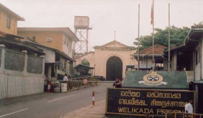 Welikada inmates transferred to Boossa and Angunukolapelessa Prisons
