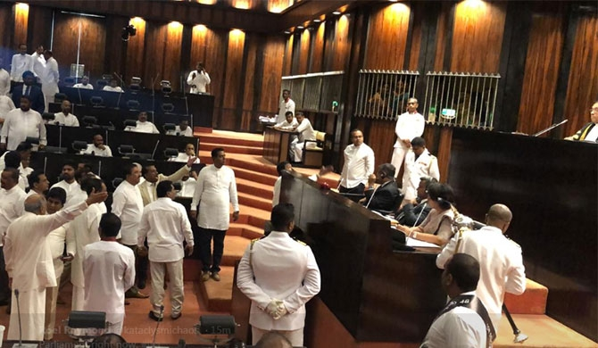 Action to be taken against MPs responsible for parliament brawls