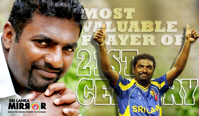 Murali named Most Valuable Player of 21st century