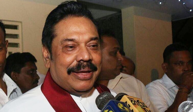 A lie, a fabrication – Mahinda Rajapaksa