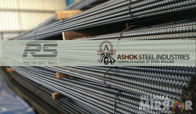 CAA suspends selling 22 tonnes of Ashok & RS rebars