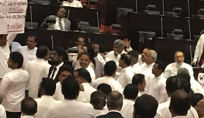 Agitated parliament suspended until 23rd(update)