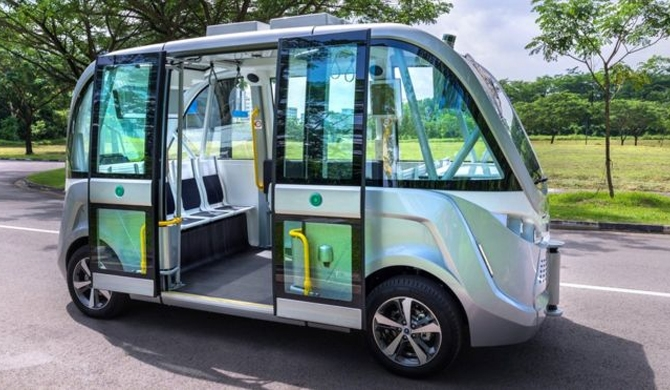 Driverless buses in Singapore by 2022