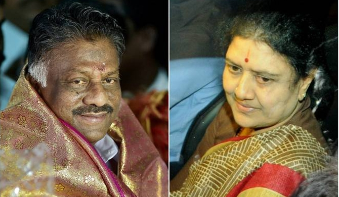 Sasikala gets hat ; Panneerselvam gets Electricity pole